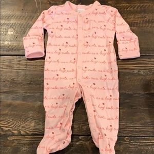 Gymboree Cute As A 🐞 Pink Snap Footie 0-3 month